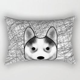 Husky dog Rectangular Pillow