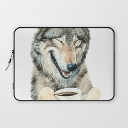 Coffee in the Moonlight Laptop Sleeve