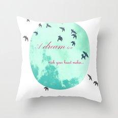 Cinderella's Song Throw Pillow