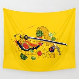 Kill Fruit Wall Tapestry