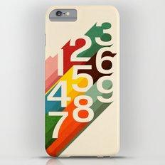 Retro Numbers iPhone 6 Plus Slim Case