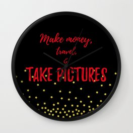Photographer Gifts Wall Clock