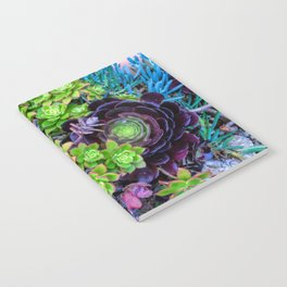 Green Fantasy by Lika Ramati Notebook