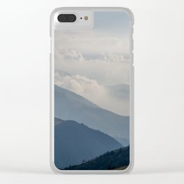 Montañas Clear iPhone Case
