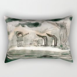 hail to the thief Rectangular Pillow