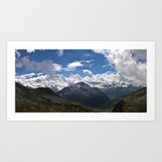 Schlegeis, Austria | Panorama Art Print