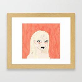 Dissolving Keiko Arisu Framed Art Print
