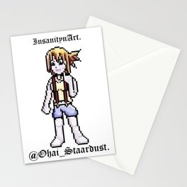 InsanitynArt Presents the Staardust Sprite of Cosplay Artist Jess Staardust. Stationery Cards