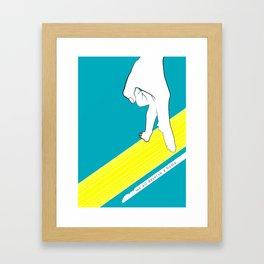 We al deserve a home Framed Art Print