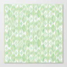 Harlequin Marble Mix Greenery Canvas Print