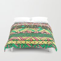 nyc Duvet Covers featuring NYC by Mariana Beldi