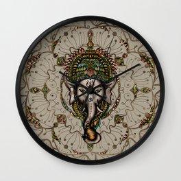 Lord Ganesha - Canvas Lord Ganesha - Canvas Wall Clock