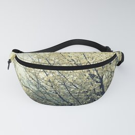 Blooming In White Fanny Pack