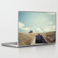 dwight Laptop & iPad Skins featuring the dwight d eisenhower lock by Amanda Stockwell