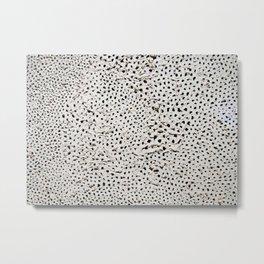 Yayoi Kusama - No. A Infinity Net Metal Print