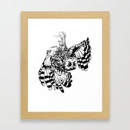 Travel By Owl Framed Art Print