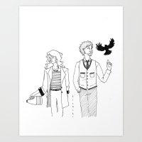 bleach Art Prints featuring bleach. by Beatrice Cayaban