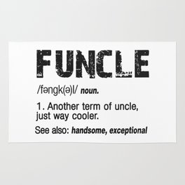 Funcle Fun Uncle Definition For Military Veterans Rug