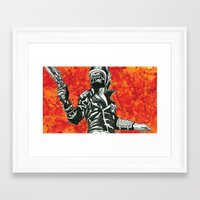 mad max Framed Art Prints featuring Mad Max  by Abominable Ink by Fazooli
