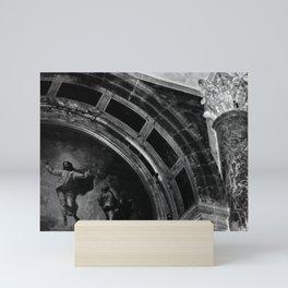 Jesus Christ Ascension Mosaic St Peters Basilica Mini Art Print