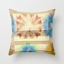 Numerably Touch Flowers  ID:16165-132620-50181 Throw Pillow