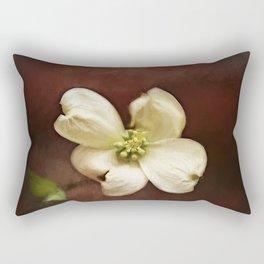 Dogwood Impression Rectangular Pillow