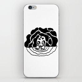 water spirit (bw) iPhone Skin