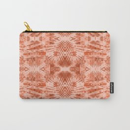 Summer Vacation Texture / Tribal Mood Carry-All Pouch