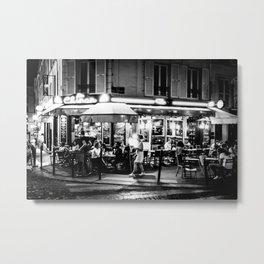 Le Chinon (Montmartre; Paris) Metal Print