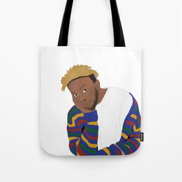 kevin 'genius' abstract Tote Bag