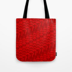 Video Game Controllers - Red Tote Bag