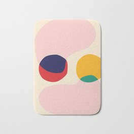 happy shapes Bath Mat