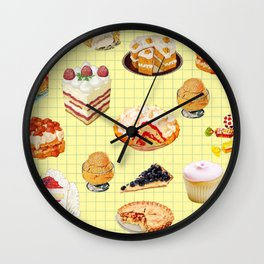 Dreamy thinking about you Wall Clock