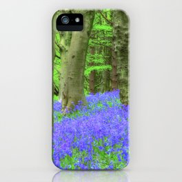 Bluebell Woods, The Wenallt #2 iPhone Case