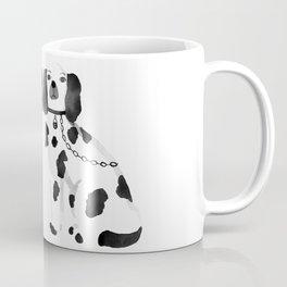 Staffordshire Dogs (Black) Coffee Mug