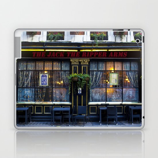 The Jack the Ripper Pub  Laptop & iPad Skin