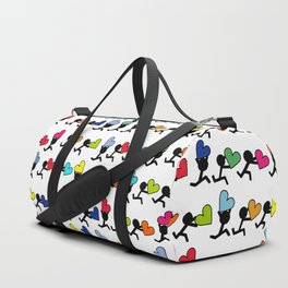 Love in color by Oliver Henggeler Duffle Bag