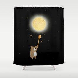 Honey Moon Bear Hunt Shower Curtain