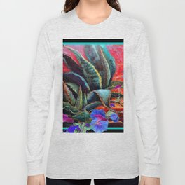 Surreal Sunrise Morning Glories Desert Landscape Long Sleeve T-shirt