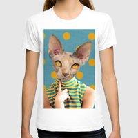 polka dot T-shirts featuring DOT by Julia Lillard Art