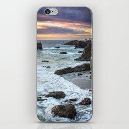 Thunder Rock Cove Sunset Coastline iPhone Skin