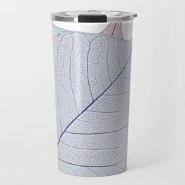 Leaf Design Travel Mug
