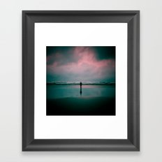 alone. Framed Art Print