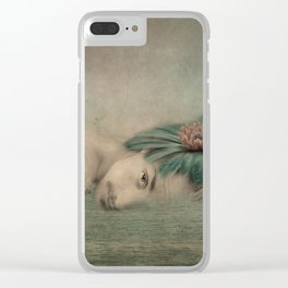 A man, the sea and a dream Clear iPhone Case