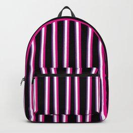 Between the Trees Black, Pink & Purple #259 Backpack