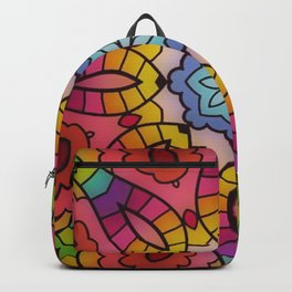 Fun with Coloring Mandala Style 5 Backpack