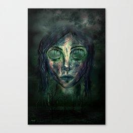 Zustand Canvas Print