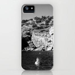 Girl in Lake iPhone Case