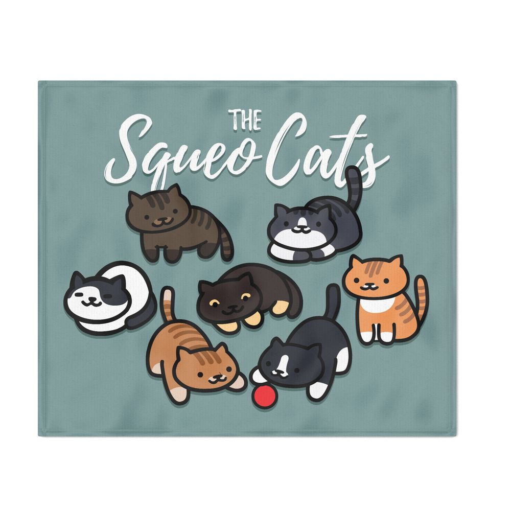 Squeo_Cats_Nov_2018_Throw_Blanket_by_amandazzling
