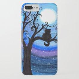 Midnight Cat iPhone Case